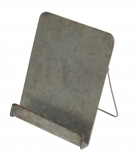 Industrial Metal Book Stand