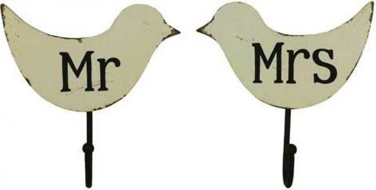 Mr & Mrs Wall Hooks