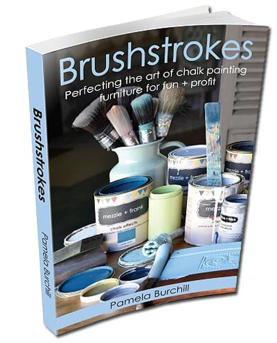 Brushstrokes Book by Pamela Burchill (Mezzie & Frank)
