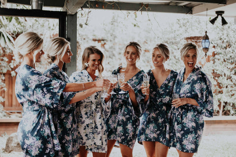 Byron Bay Bride and Her Bridesmaids
