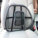 Mesh Beads Massage Breathable Backrest Support Pad for Car Seat