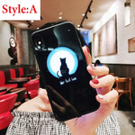 Intelligent Luminous Glass Phone Case