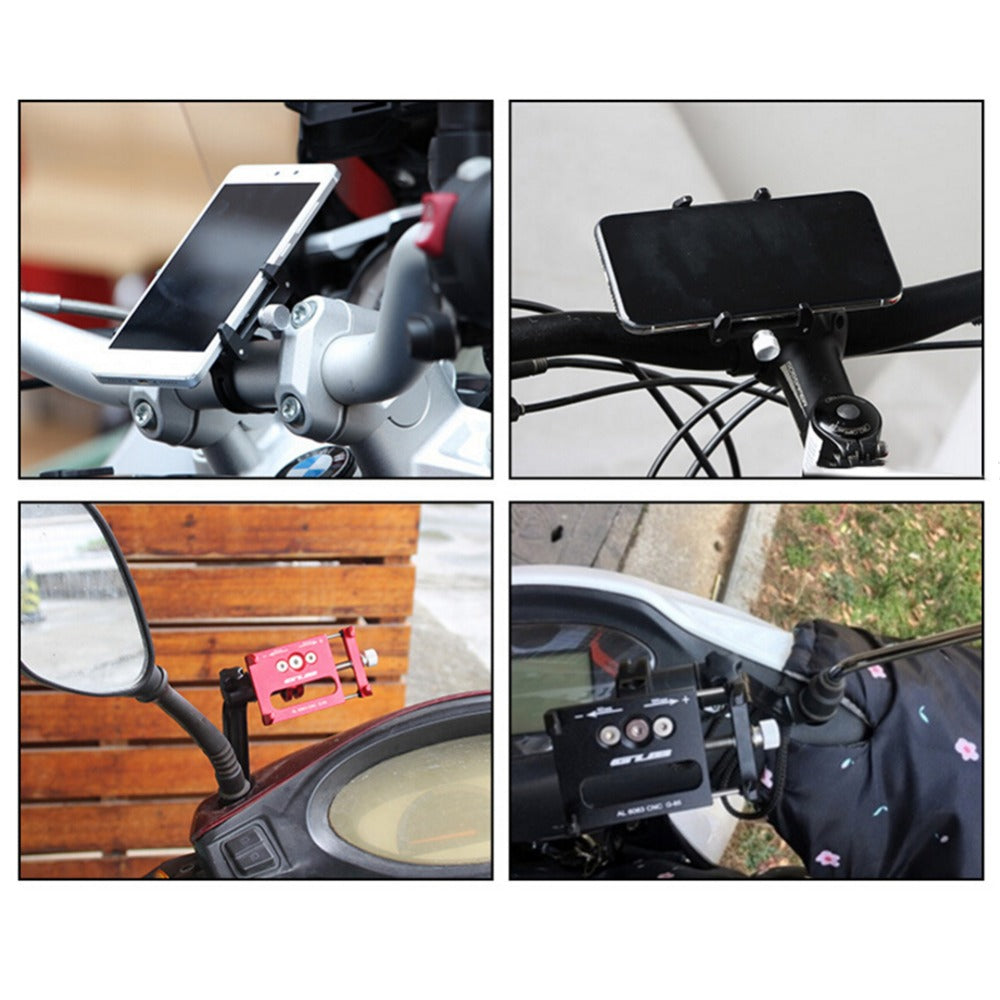 Bicycle & Motorcycle Riding Equipment Mobile Phone Holder