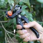 Inspire Uplift Professional Tree Grafter with Pruning Shears Kit Black Kit Professional Tree Grafter Kit