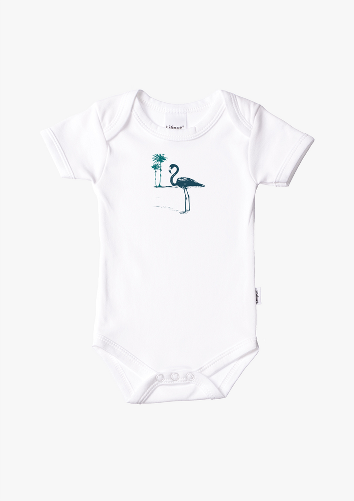 Kurzarmbody Flamingo