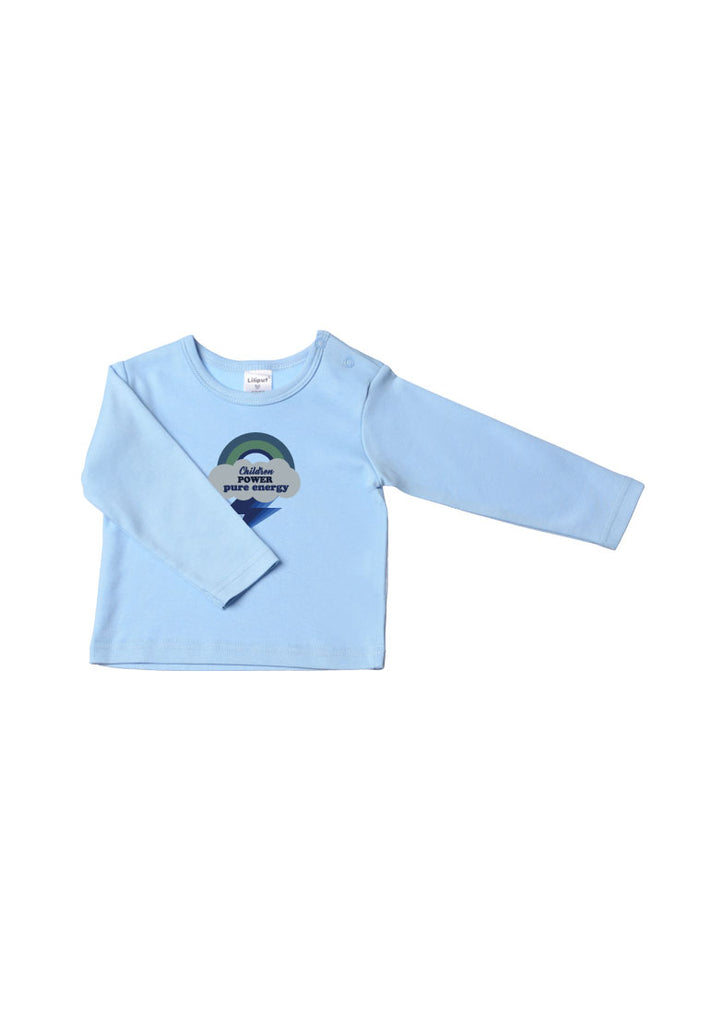 Langarmshirt Children Power Bio-Baumwolle