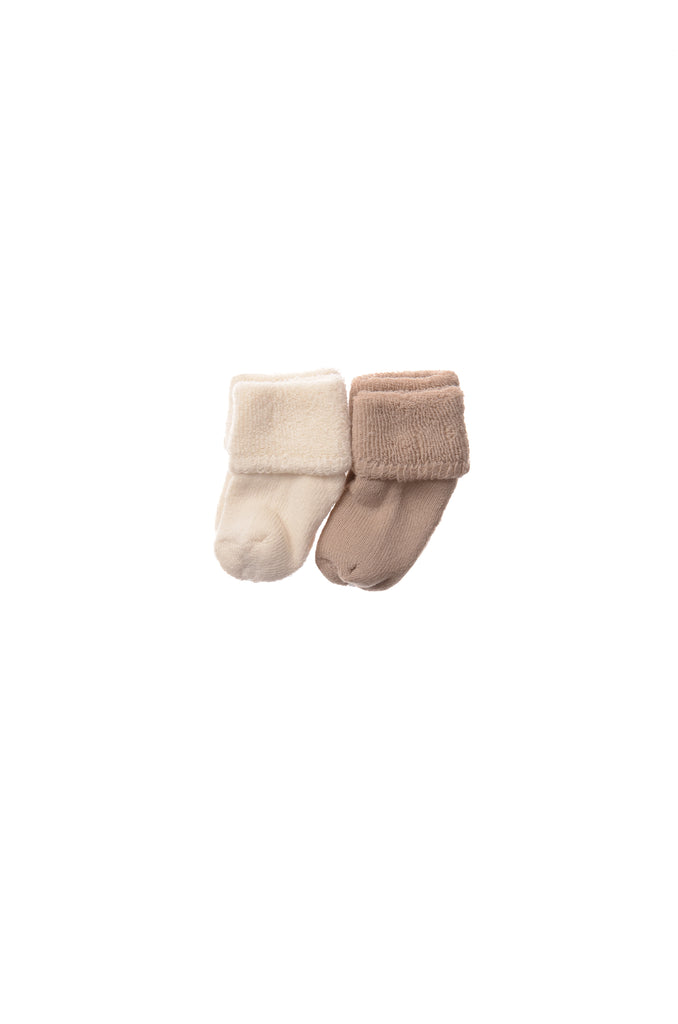 Rib-Strick Set in beige 5-teilig