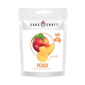 CAKE CRAFT | NATURAL DRIED FRUIT POWDER | PEACH | 50G