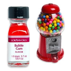 LORANN - CONCENTRATED FLAVOUR OIL - 3.7ML - BUBBLE GUM