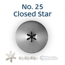 LOYAL | #25 CLOSED STAR | PIPING TUBE | STAINLESS STEEL
