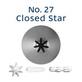 LOYAL | #27 CLOSED STAR | PIPING TUBE | STAINLESS STEEL