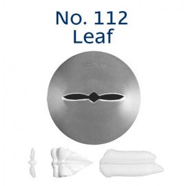 LOYAL | #112 LEAF | PIPING TUBE | STAINLESS STEEL