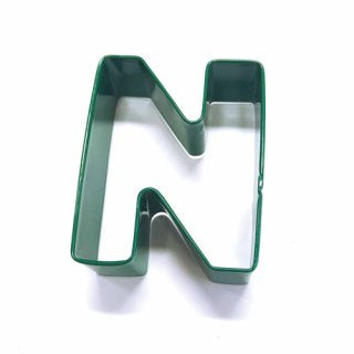 LETTER N | COOKIE CUTTER | GREEN