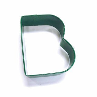 LETTER B | COOKIE CUTTER | GREEN