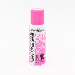CHEFMASTER | PINK | EDIBLE COLOUR SPRAY | 1.5 OZ/42 GRAMS