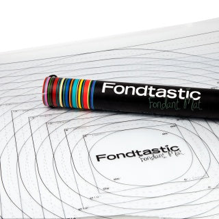 FONDTASTIC FONDANT 2PC MAT SET