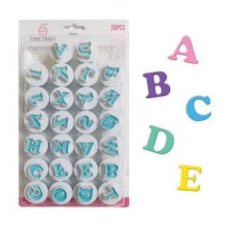 MINI UPPERCASE ALPHABET CUTTER