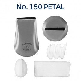 LOYAL | #150 PETAL | PIPING TUBE | STAINLESS STEEL