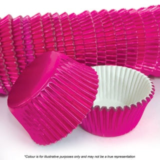 CAKE CRAFT | 408 PINK FOIL BAKING CUPS | PACK OF 500