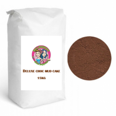 DELUXE CHOCOLATE MUD CAKE MIX | 15 KG
