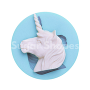 SILICONE MOULD UNICORN HEAD