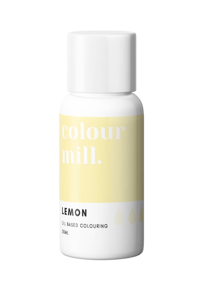 COLOUR MILL OIL BASED COLOURING 20ML LEMON