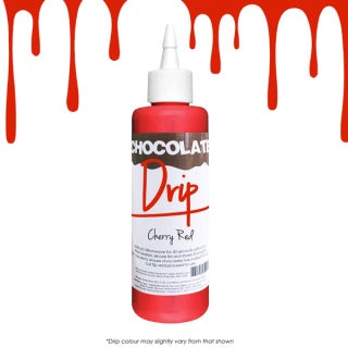 CHOCOLATE DRIP | CHERRY RED | 250G