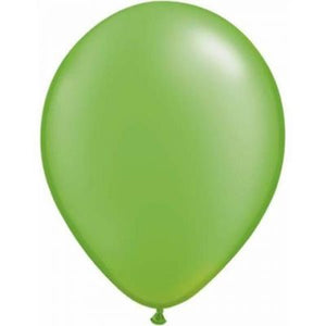"LATEX 11"" BALLOON PEARL LIME GREEN"