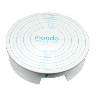 MONDO CAKE ROTATING TURNTABLE WITH BRAKE