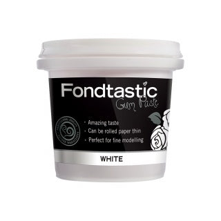 FONDTASTIC READY TO USE WHITE GUM PASTE -225G