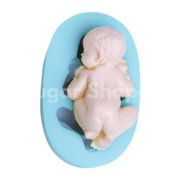 SILICONE MOULD SLEEPING BABY