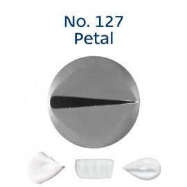 LOYAL | #127 PETAL | PIPING TUBE | STAINLESS STEEL