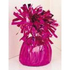 FOIL BALLOON WEIGHT HOT PINK