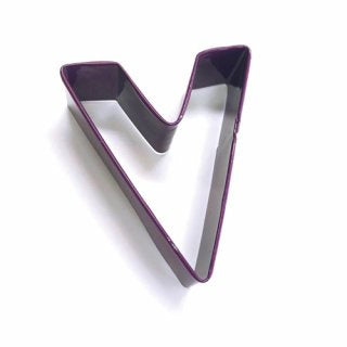 LETTER V | COOKIE CUTTER | PURPLE
