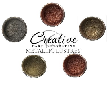 CREATIVE CAKE DECORATING - JEWEL LIKE DECORATING DUST - METALLIC CHAMPAGNE GOLD - 9G