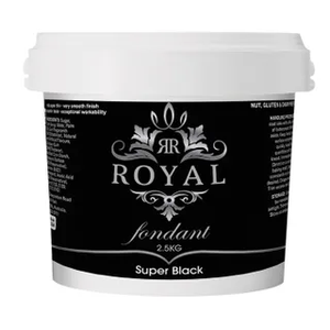 ROYAL - BLACK - FONDANT 2.5KG