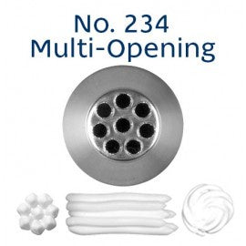 LOYAL | #234 MULTI-OPEN | PIPING TUBE | STAINLESS STEEL
