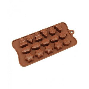 EASY FLEX CHRISTMAS CHOCOLATE SILICONE MOULD