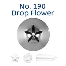 LOYAL | #190 DROP FLOWER | PIPING TUBE | STAINLESS STEEL