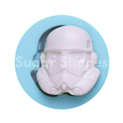 SILICONE MOULD STARWAR STORM TROOPER MASK