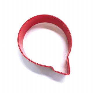 LETTER Q | COOKIE CUTTER | RED