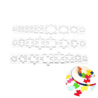 JIGSAW PUZZLE IMPRESSION CUTTER SET 3 PCE