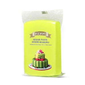 VIZYON FONDANT - LIGHT GREEN 1KG