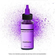 CHEFMASTER | VIOLET | AIRBRUSH FOOD COLOUR | 2 OZ/57 GRAMS