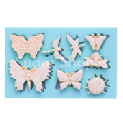 SILICONE MOULD BUTTERFLY AND BUG ASSOTRED 8PC