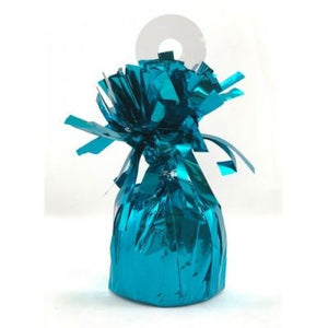 FOIL BALLOON WEIGHT TEAL