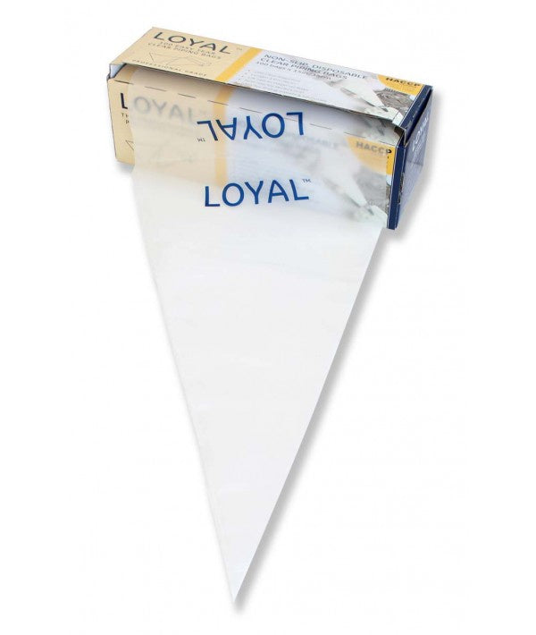 LOYAL 15IN/38CM CLEAR DISPOSABLE PIPING BAGS