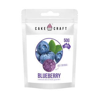 CAKE CRAFT | NATURAL DRIED FRUIT POWDER | BLUEBERRY | 50G