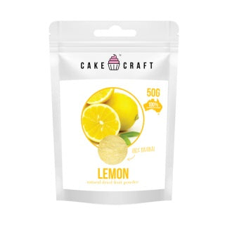 CAKE CRAFT | NATURAL DRIED FRUIT POWDER | LEMON | 50G