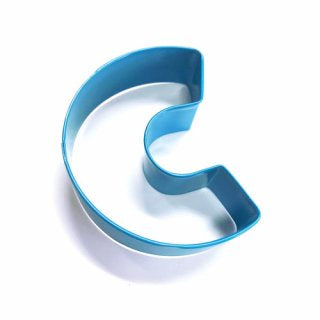 LETTER C | COOKIE CUTTER | BLUE